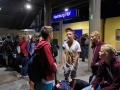 ...um 20:00 Uhr am Hamburger Bahnhof