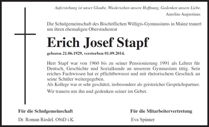 E.J.Stapf